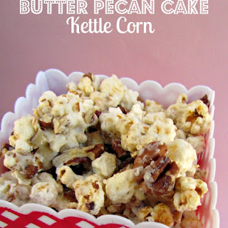 Butter Pecan Cake Kettle Corn