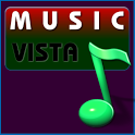 Music download vista icon