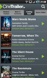 CineTrailer Cinema & Showtimes- screenshot thumbnail