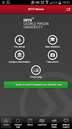 INTO GMU student app