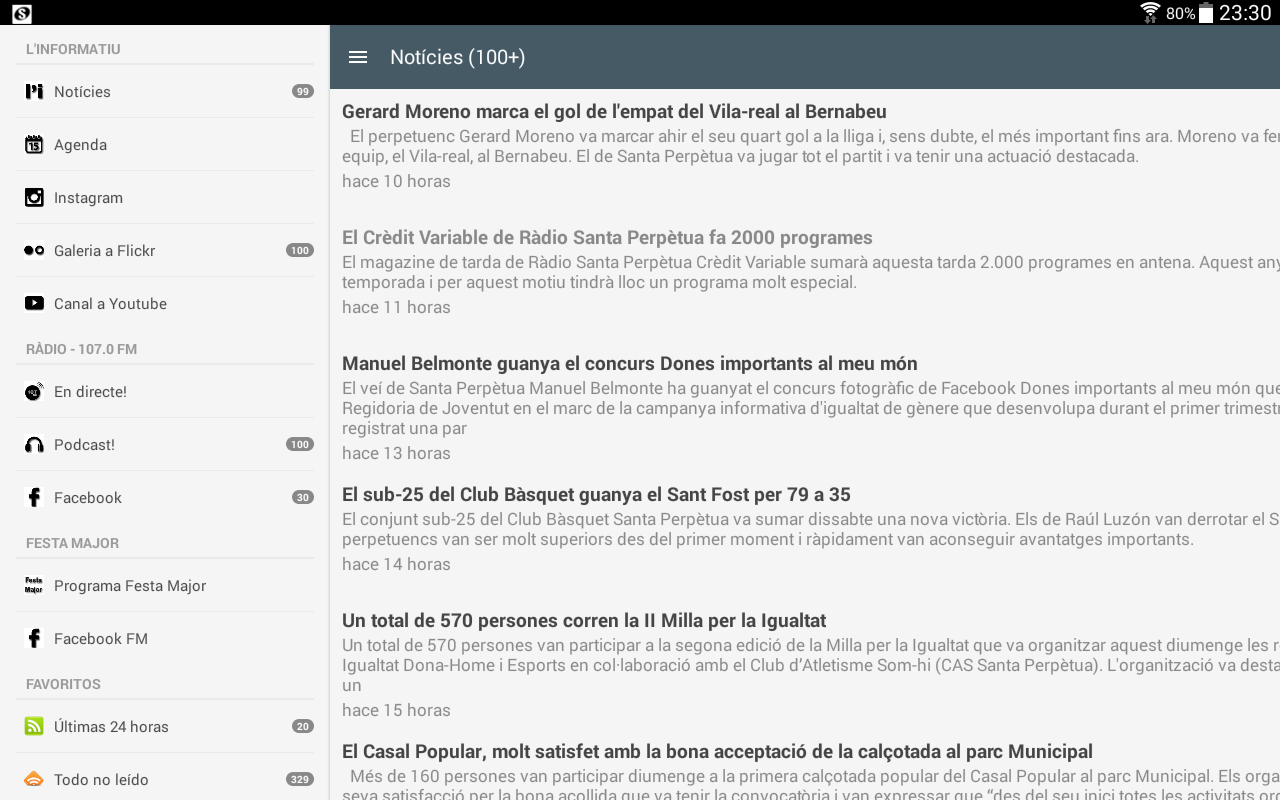 l'Informatiu- screenshot