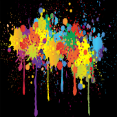 Paint Splash Livewallpaper