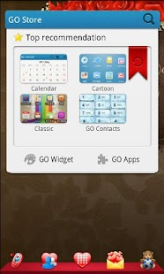 Romantic Theme GO Launcher EX - screenshot thumbnail