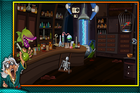 Escape From Wicked Alchemist - screenshot