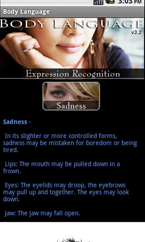 Body Language - Expressions- screenshot