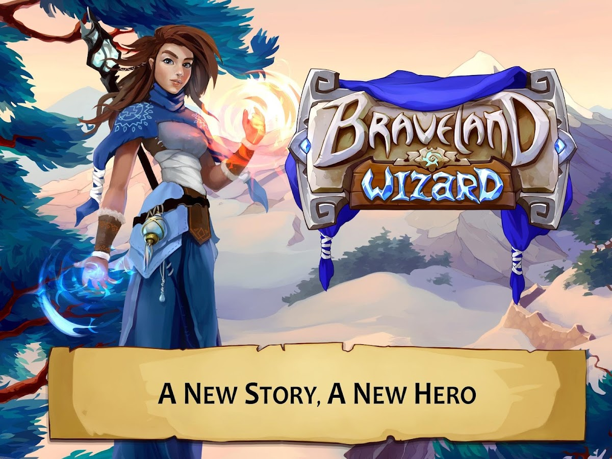 Braveland Wizard - screenshot