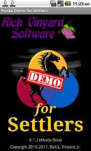 Pooka Demo for Settlers- screenshot thumbnail