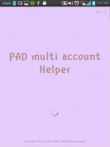 Pad backup reset helper
