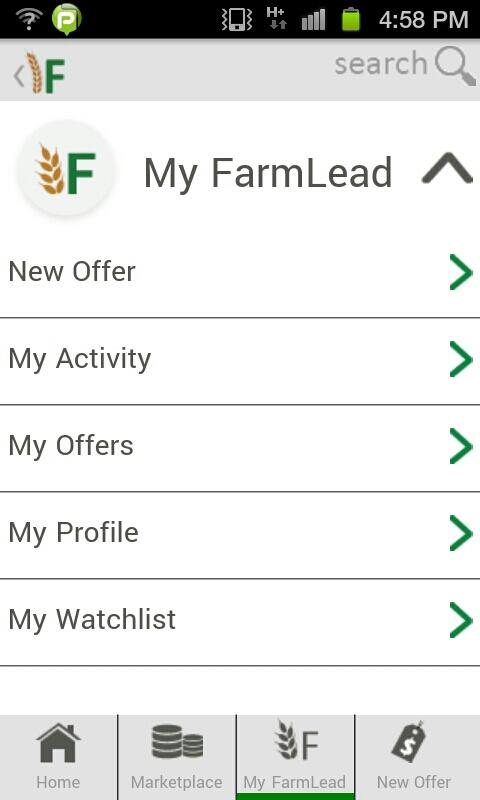 FarmLead Mobile - screenshot