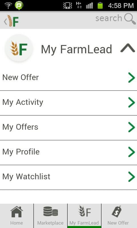 FarmLead Mobile - screenshot