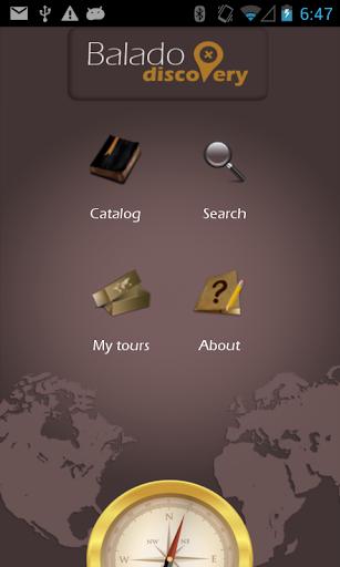 BaladoDiscovery - GPS tours
