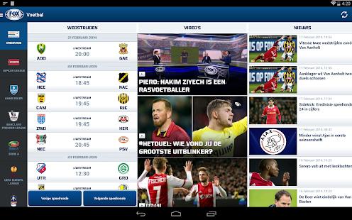 FOX Sports NL Screenshot 14