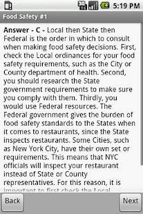 Food Safety Exam Prep- screenshot thumbnail