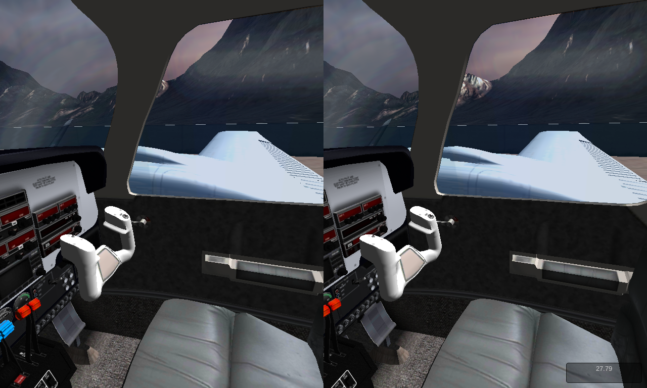 VR Flight Simulator- screenshot