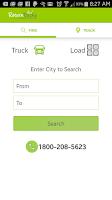 Screenshot of Return Trucks