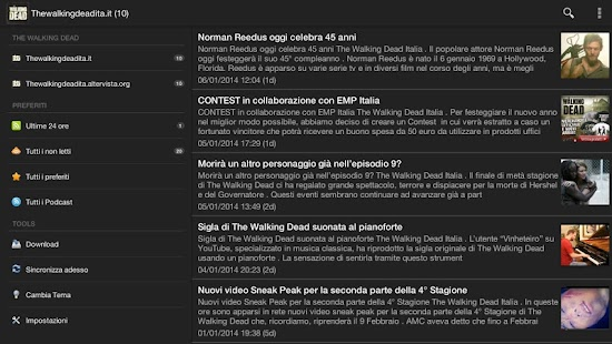 Walking Dead News Italia - screenshot thumbnail