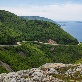 The Cabot Trail by Steve Hall - Landscapes Mountains & Hills ( skyline trail, nova scotia, cabot trail, cape breton island )