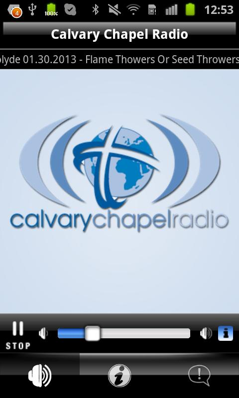 Calvary Chapel Radio- screenshot