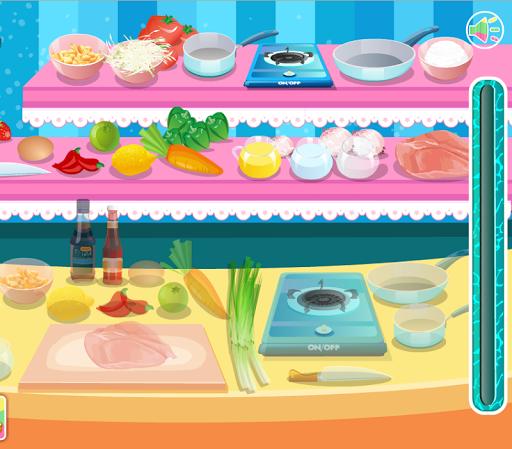 เกมส์ทำอาหารผัดไทยรสเด็ด