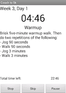 Couch to 5k Running