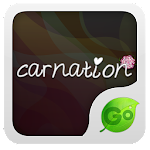 Carnation GO Keyboard  theme