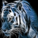 Neon Tiger Live Wallpaper icon