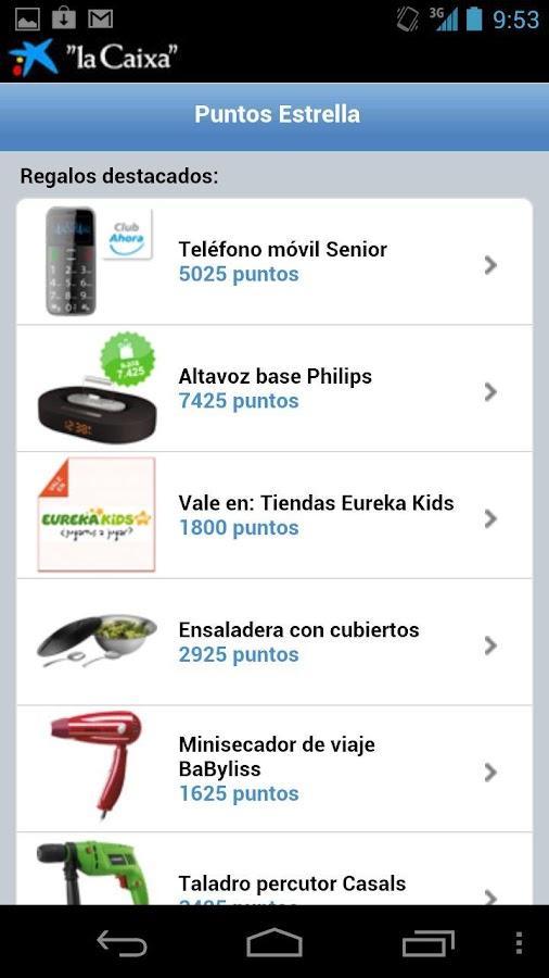 Puntos Estrella - screenshot