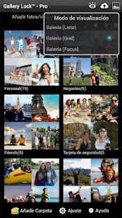 Gallery Lock Pro (español) - screenshot thumbnail