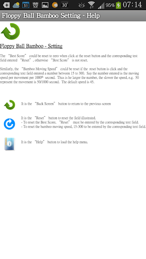 【免費休閒App】Floppy Ball Bamboo Bouncing-APP點子