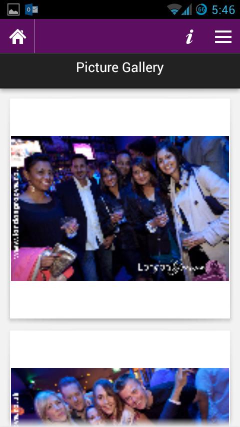 London Groove - Club Finder - screenshot