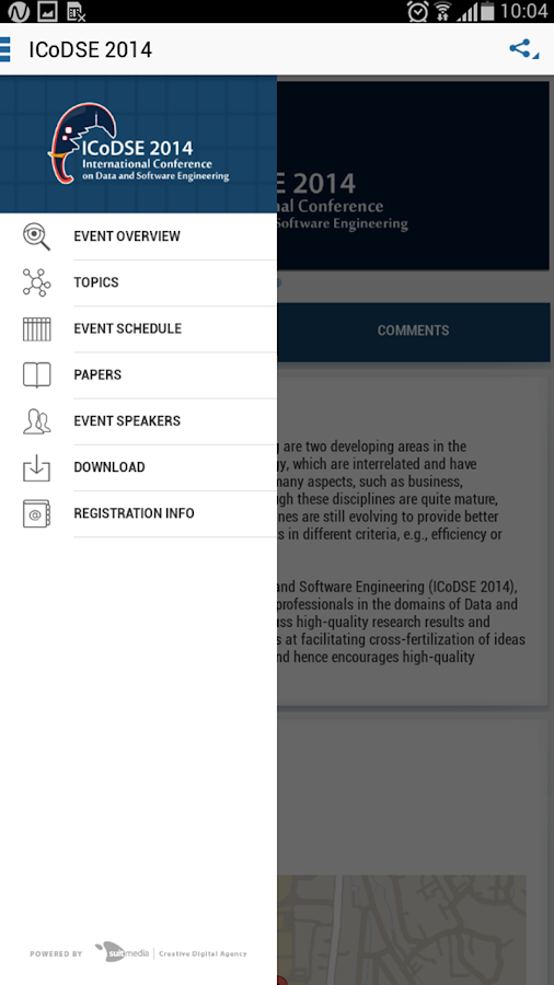 ICoDSE 2014- screenshot