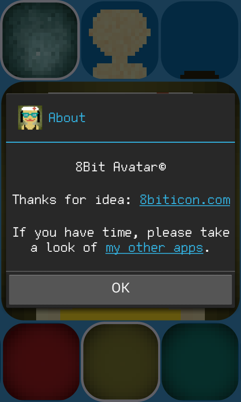 8Bit Avatar Maker - screenshot