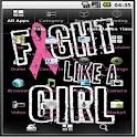 Breast cancer them icon