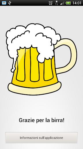 Offer us a beer