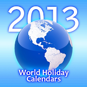 World Holiday Calendars 2013