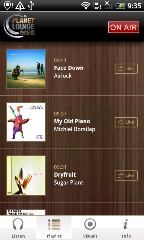 Planet Lounge Radio- screenshot