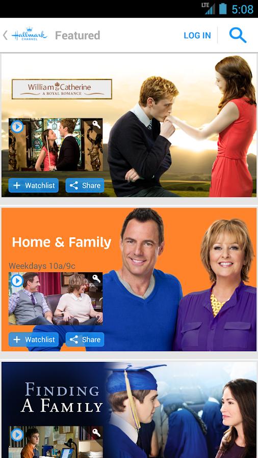 Hallmark Channel Everywhere - screenshot