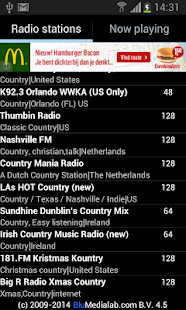 Country Music RADIO - screenshot thumbnail
