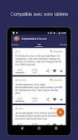 Screenshot of Expressions à la con - Humour