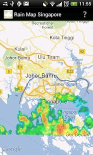 Rain Map Singapore - screenshot thumbnail
