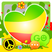 GO SMS Pro Reggae Theme