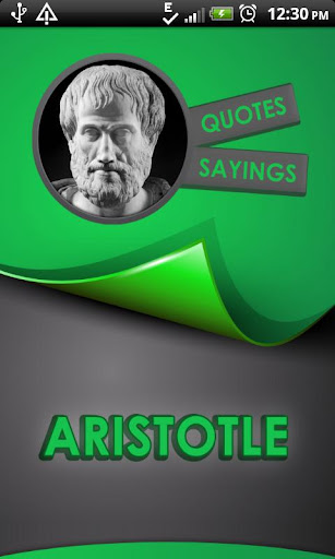 Aristotle Quotes Says