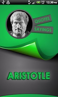 Aristotle Quotes Says
