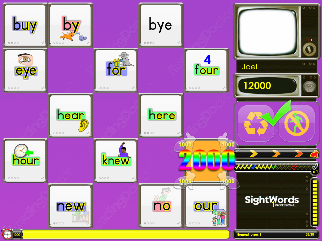 Sight Words 1 Pro- screenshot
