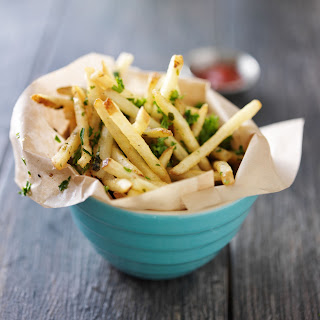 Baked Truffle And Garlic Fries