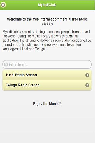 MyIndiclub Radio Station