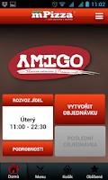 Screenshot of Amigo Restaurant