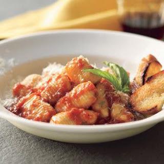 Gnocchi with Tomato Sauce.