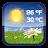Android Weather & Clock Widget logo