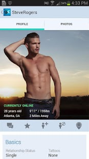 Gay.com same-sex chat & dating- screenshot thumbnail
